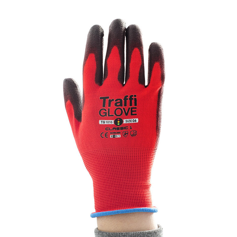 TraffiGlove TG1010 Classic Cut Level 1 Safety Gloves